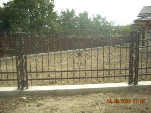 Gard fier forjat Bacau - Poderale Company