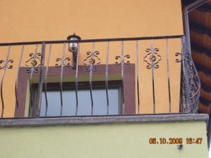 Balustrada balcon fier forjat Poderale Company Bacau