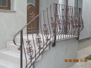 Balustrada mana curenta fier forjat Poderale Company Bacau