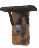 Lampa rustica de gradina