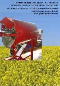 Cuptor prajit(deshidratat)seminte