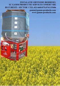 Biodiesel instalatii