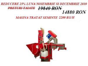 MASINA TRATAT GRAU PENTRU INSAMANTARE 2200KG/ORA ; REDUCERE 25%