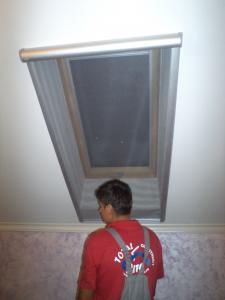 Rulouri ferestre mansarda
