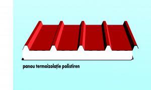 Panouri termoizolante de acoperis