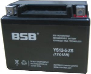 Baterie moto sigilata, 12V 4Ah CARANDA by BSB, YS12-5-ZS