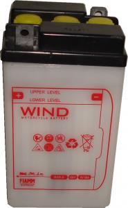 Baterie acumulator moto 6V 8Ah Caranda by FIAMM din gama WIND, B49-6
