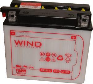 Baterie acumulator moto 12V 18Ah Caranda by FIAMM din gama WIND