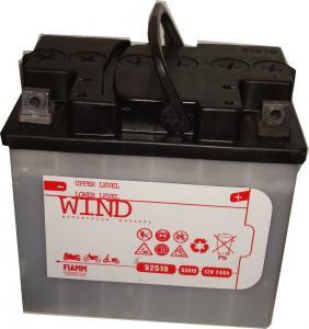Baterie acumulator moto 12V 24Ah Caranda by FIAMM din gama WIND, 52515