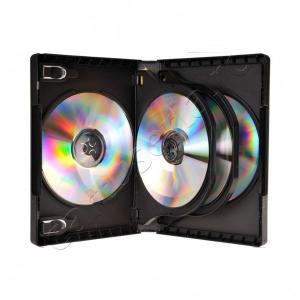 Carcasa plastic pentru 6 DVD-uri