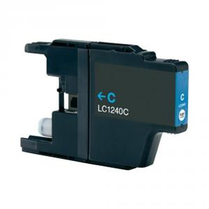 Cartus compatibil pentru Brother LC 1240 LC1280 Cyan