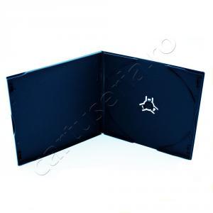 Carcasa neagra Slim 5 mm PP pentru CD si DVD
