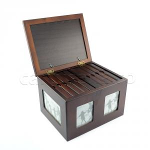Album foto de lemn personalizabil  -  tip cufar