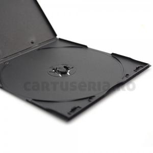 Carcasa Slim  neagra pentru DVD 4 mm