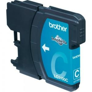 Cartus compatibil Brother LC1100 LC980 LC61 Cyan