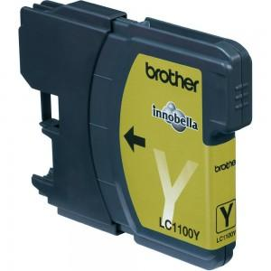 Cartus compatibil Brother LC1100 LC980 LC61 Yellow