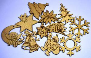 Ornamente sarbatorile iarna