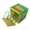 Baby mix cub din lemn cu multiple activitati pt