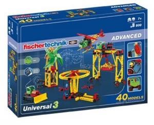 Set Constructie 40 modele Universal 3 Fischertechnik