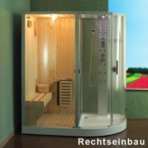 Cabina dus cu sauna