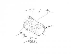 Pompa hidraulica excavator Komatsu PC14R - 20M-60-91200