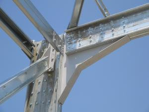 Structura metalica usoara galvanizata
