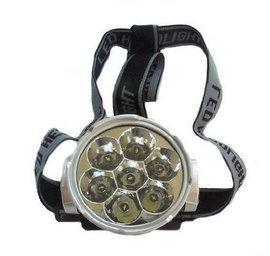 Lanterna frontala cu 7 leduri