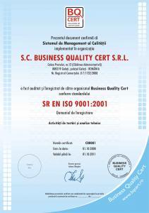 Certificat de conformitate