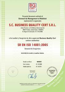 Certificare de mediu