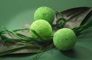 Sare efervescenta cu ceai verde - cadouri pentru femei