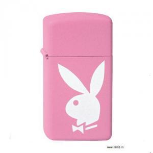 Bricheta Zippo Playboy Pink Slim