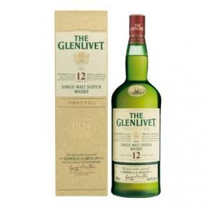 Whisky cadou The Glenlivet de 12 ani