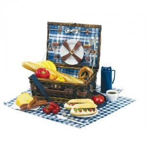Cadouri - Cos cadou pentru picnic DeLuxe