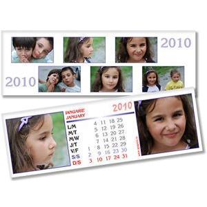 Calendar de birou personalizat (10 x 30 cm) AP6