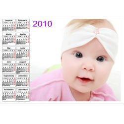Calendar de perete personalizat (45 x 32 cm) RT10