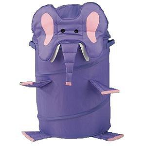 Sac pentru jucarii (mare: 50x45 cm) Elefant