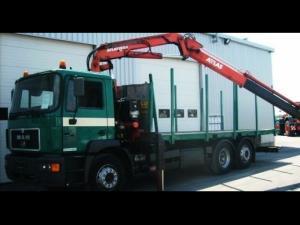 Camion pentru transport busteni