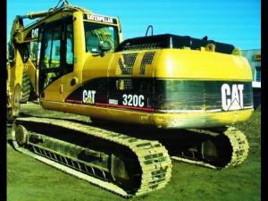 Excavator cat 320 cl