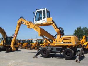 Excavator liebherr a 904 industrial