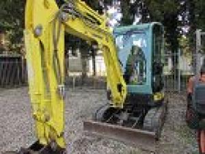 Miniexcavator Yanmar VIO 33 U