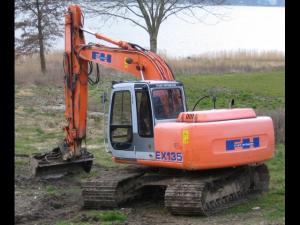 Excavator hitachi ex 700
