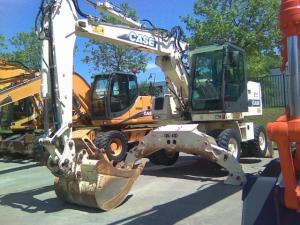Excavator  mobil Case 788 P