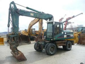 Excavator cat m 318