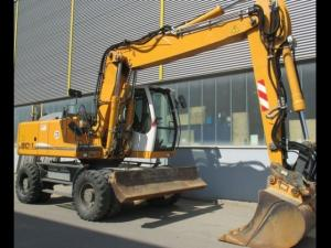 Excavator pe roti Liebherr A 904 C Litronic