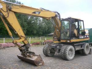 Excavator cat m312