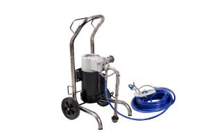 Pompa Airless Bisonte PAZ-6820, motor electric 230V-50Hz, putere motor 750W, debit 2.0 l/min, zugravit/ vopsit