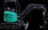 Mini - excavator 35v4, putere motor 23.5 cp, adancime