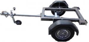 Remorca pentru generator ERG 750 cu dispozitiv franare
