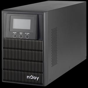 UPS 1kVA nJoy Aten 1000L, On-line, baterie inclusa, monofazat