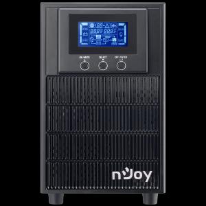 UPS 2 kVA nJoy Aten 2000L, On-line, baterie inclusa, monofazat